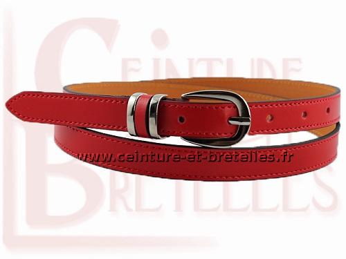 ceinture-femme-fine-rouge