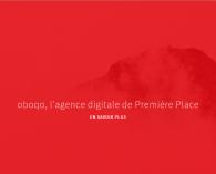 Aperçu du site de l'agence web Oboqo